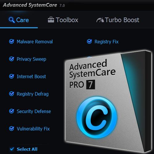 Acheter Advanced Systemcare 7 Pro Clé Cd Comparateur Prix