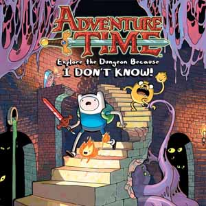 Acheter Adventure Time Explore the Dungeon Because I DONT KNOW Nintendo Wii U Download Code Comparateur Prix