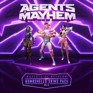 Agents of Mayhem Bombshells Skins Pack