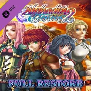 Alphadia Genesis 2 Full Restore