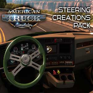 Acheter American Truck Simulator Steering Creations Pack Clé Cd Comparateur Prix