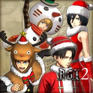 AOT2 Christmas Costume Set