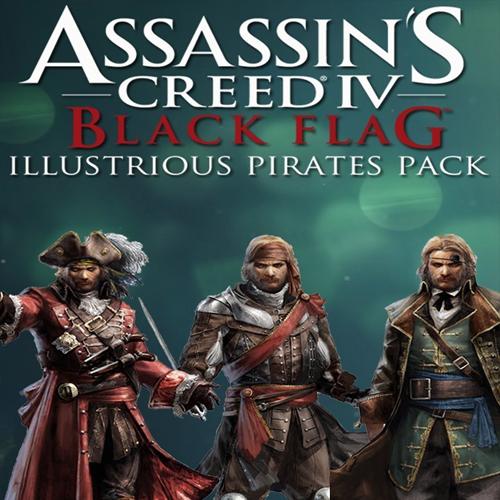 Acheter Assassins Creed 4 Illustrious Pirates Cle Cd Comparateur Prix