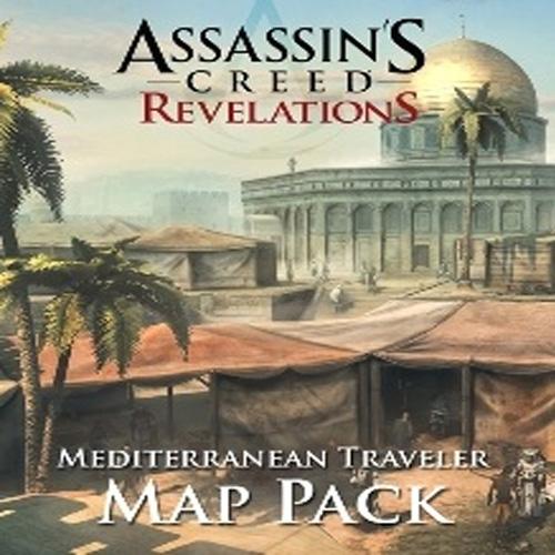 Assassin's Creed Revelations Mediterranean Traveler Map Pack