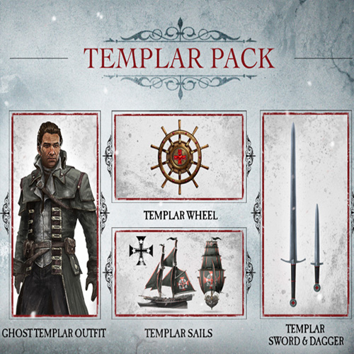 Telecharger Assassins Creed Rogue Master Templar Pack PS3 code Comparateur Prix