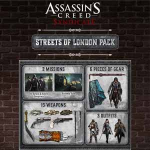 Acheter Assassins Creed Syndicate Streets of London Pack Clé Cd Comparateur Prix