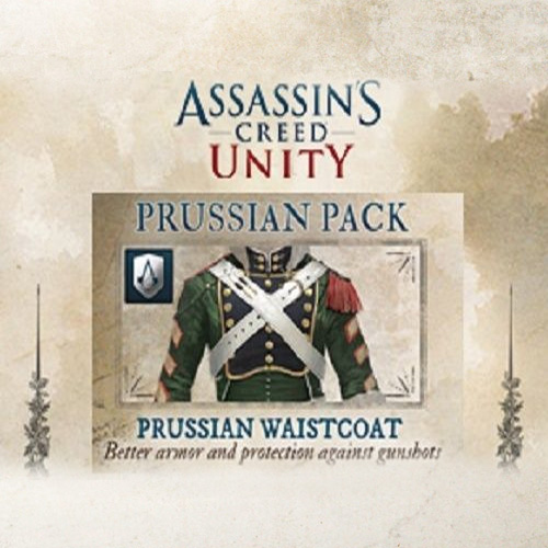Assassin's Creed Unity Prussian Waistcoat