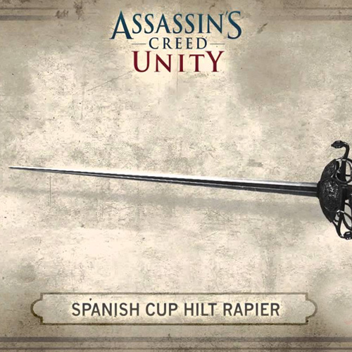 Acheter Assassins Creed Unity Spanish Hilt Rapier Clé Cd Comparateur Prix