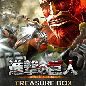 Telecharger Attack on Titan Treasure Box PS4 code Comparateur Prix