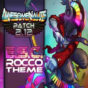 Awesomenauts Electronic Supersonic Cybertronic Rocco Skin