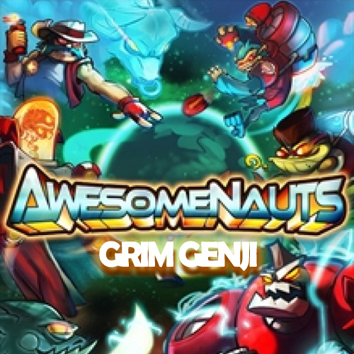 Awesomenauts Grim Genji