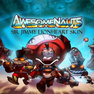 Awesomenauts Sir Jimmy Lionheart Skin