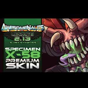 Acheter Awesomenauts Specimen X-58 Skin Clé Cd Comparateur Prix