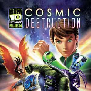 Telecharger Ben 10 Ultimate Alien Cosmic Destruction PS3 code Comparateur Prix