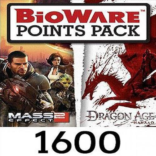 Acheter Bioware 1600 Points Gamecard Code Comparateur Prix