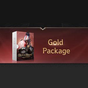Black Desert Bronze to Gold Package