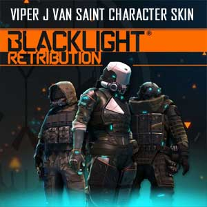 Blacklight Retribution Viper J Van Saint Character Skin