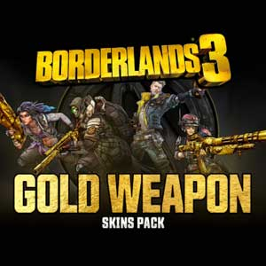 Borderlands 3 Gold Weapon Skins Pack