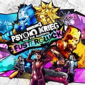 Borderlands 3 Psycho Krieg and the Fantastic Fustercluck