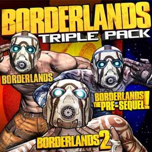 Acheter Borderlands Triple Pack Clé Cd Comparateur Prix