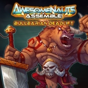 Bullbarian Deadlift Awesomenauts Assemble Skin