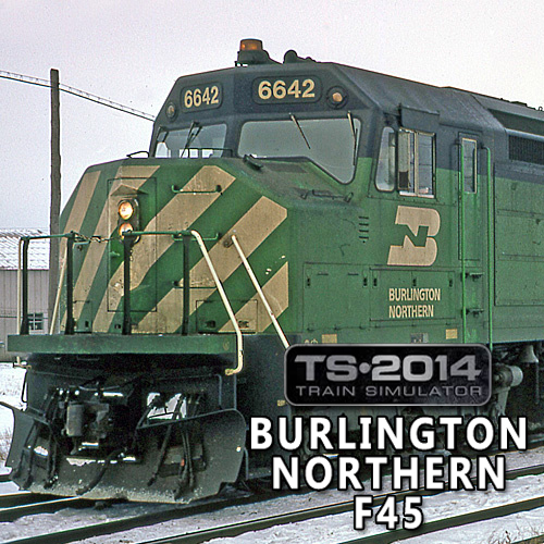 Acheter Train Simulator Burlington Northern F45 Cle Cd Comparateur Prix