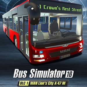Acheter Bus Simulator 16 MAN Lions City A47 M Clé Cd Comparateur Prix