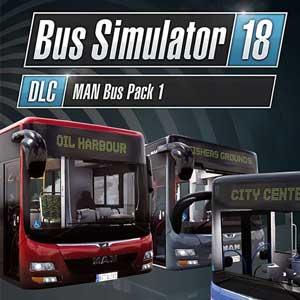 Acheter Bus Simulator 18 MAN Bus Pack 1 Clé CD Comparateur Prix