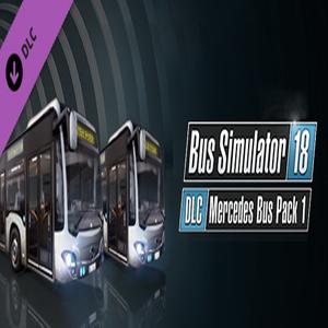 Acheter Bus Simulator 18 Mercedes-Benz Bus Pack 1 Clé CD Comparateur Prix