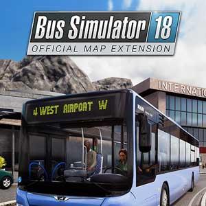 Acheter Bus Simulator 18 Official Map Extension Clé CD Comparateur Prix