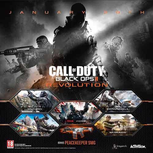 Acheter COD Black Ops 2 dlc Revolution clé CD Comparateur Prix