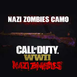 Call of Duty WW2 Nazi Zombies Camo