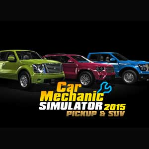 Acheter Car Mechanic Simulator 2015 PickUp and SUV Clé Cd Comparateur Prix