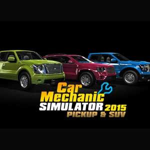 Car Mechanic Simulator 2015 PickUp and SUV