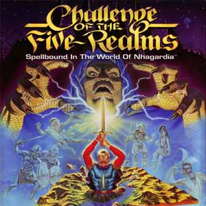 Challenge of the Five Realms Spellbound in the World of Nhagardia