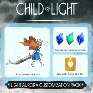 Child of Light Light Aurora Customization