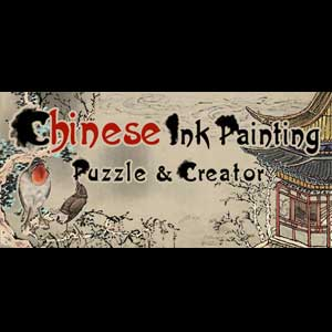 Chinese Ink Painting Puzzle & Creator