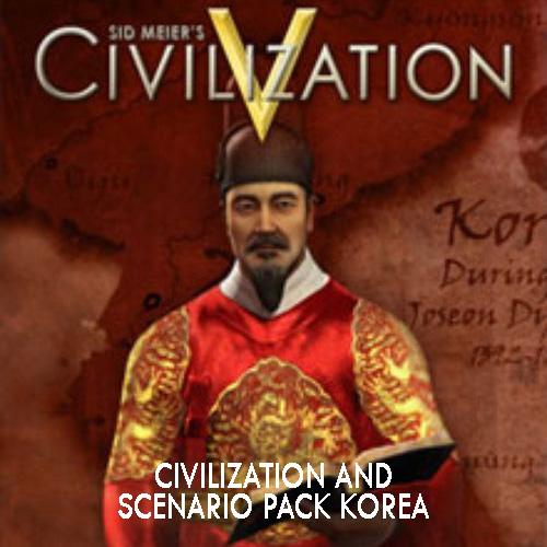 Acheter Civilization 5 Civilization and Scenario Pack Korea Clé Cd Comparateur Prix
