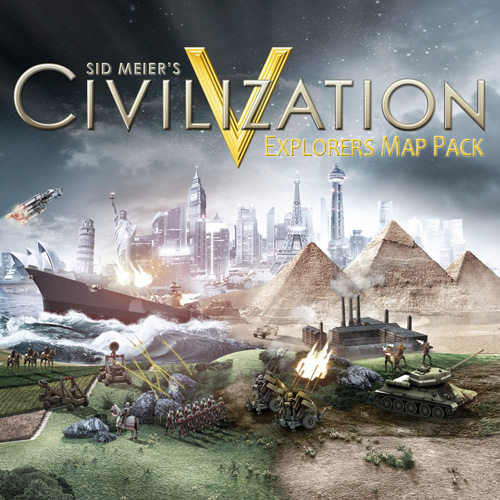Acheter Civilization 5 Explorers Map Pack Clé Cd Comparateur Prix