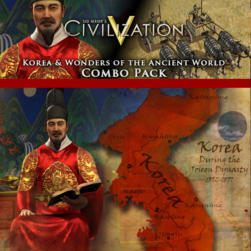 Acheter Civilization 5 Korea and Wonders of the Ancient World Combo Pack Clé Cd Comparateur Prix