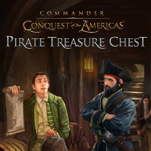 Acheter Commander Conquest of the Americas Pirate Treasure Chest Clé Cd Comparateur Prix