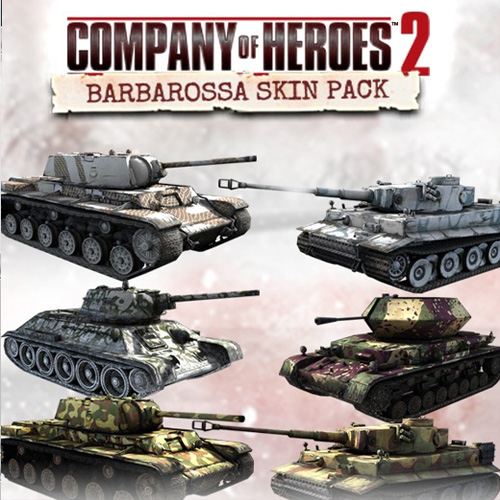 Acheter Company of Heroes 2 Barbarossa Skin Pack Clé Cd Comparateur Prix