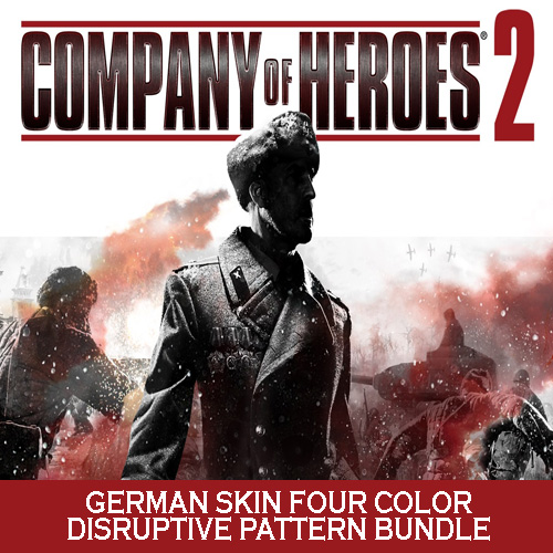 Acheter Company of Heroes 2 German Skin Four Color Disruptive Pattern Bundle Clé Cd Comparateur Prix