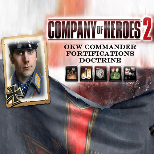 Company Of Heroes 2 OKW Commander Fortifications Doctrine