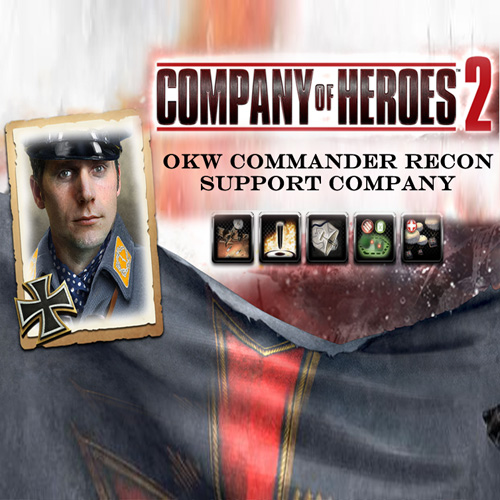 Company Of Heroes 2 OKW Commander Recon Support Company