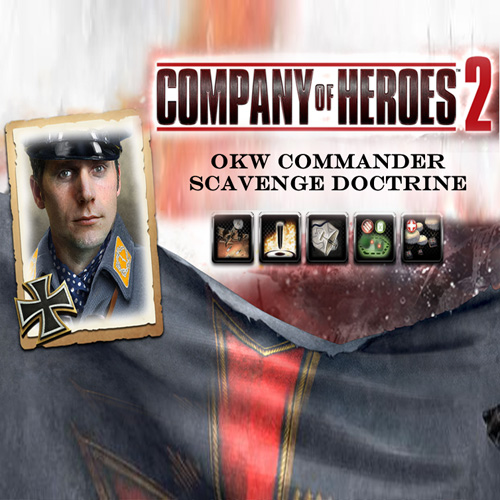 Company of Heroes 2 OKW Commander Scavenge Doctrine