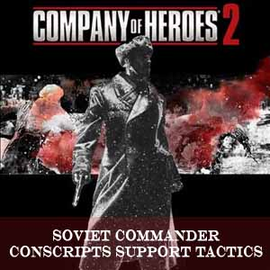 Acheter Company of Heroes 2 Soviet Commander Conscripts Support Tactics Clé Cd Comparateur Prix