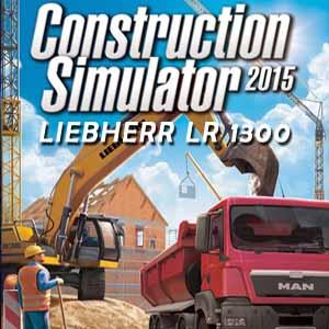Acheter Construction Simulator 2015 Liebherr LR 1300 Clé Cd Comparateur Prix