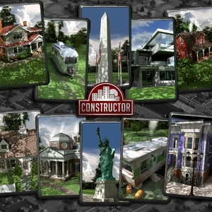 Constructor Building Pack 2  Made in America
