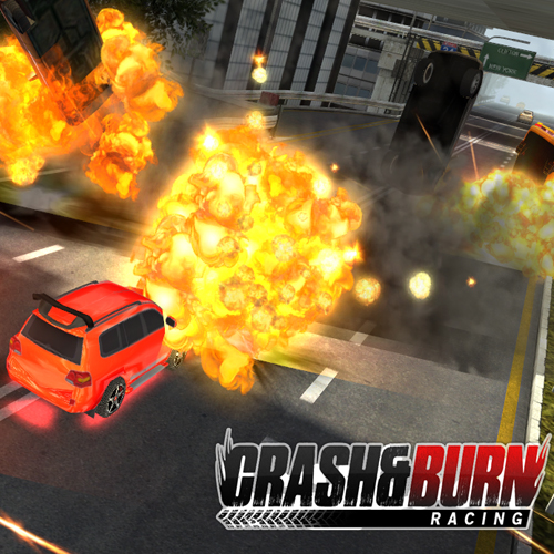 Acheter Crash and Burn Racing Clé Cd Comparateur Prix